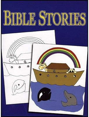 3 Way Coloring Book - Bible - magic