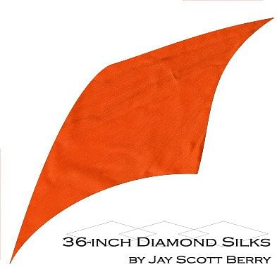 "36"" Diamond Silk, 100% Silk - magic"
