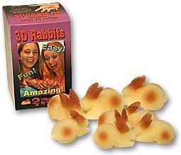 3D Rabbit Set - magic