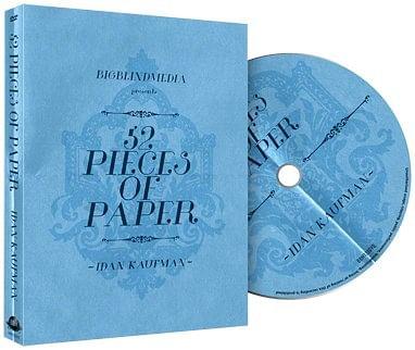 52 Pieces Of Paper - magic