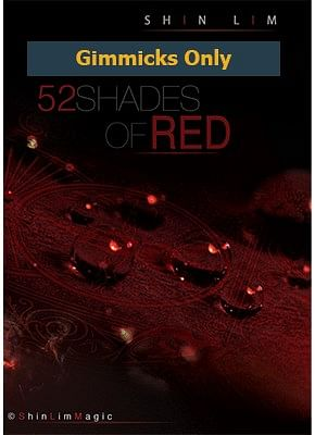 52 Shades of Red Magnets - magic