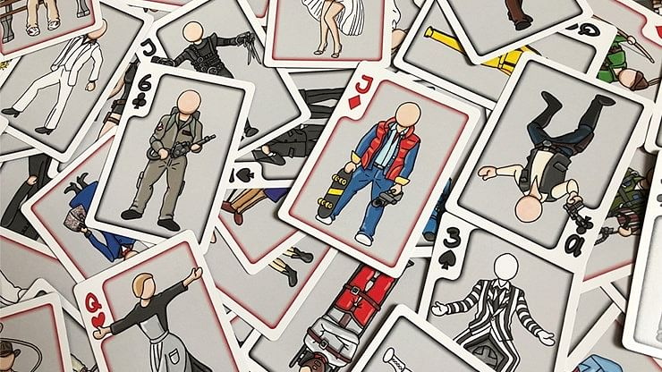 53 Films Playing Cards