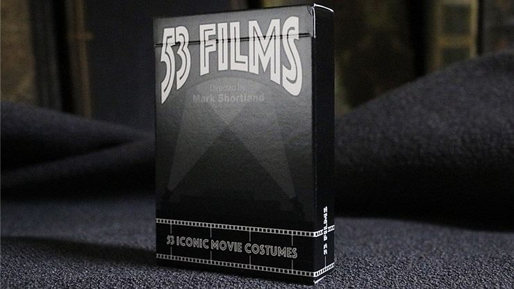 53 Films Playing Cards - magic
