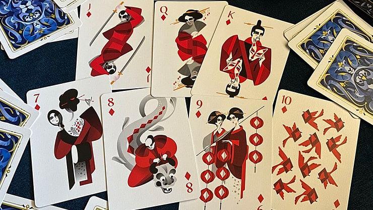 5th Kingdom Semi-Transformation Playing Cards