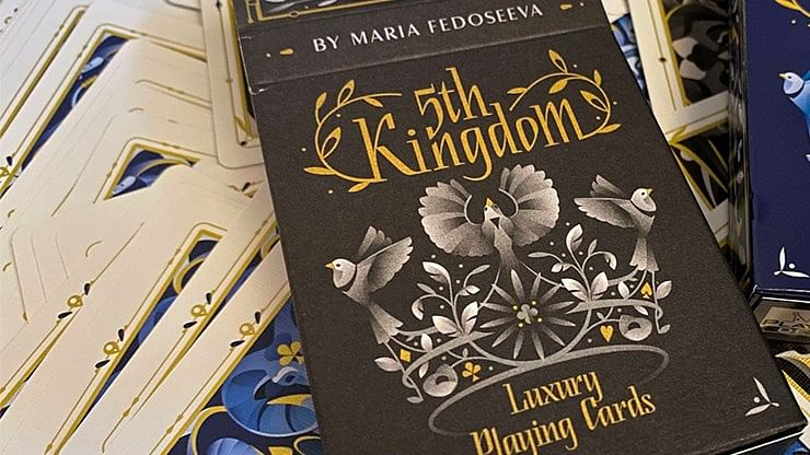 5th Kingdom Semi-Transformation Playing Cards - magic