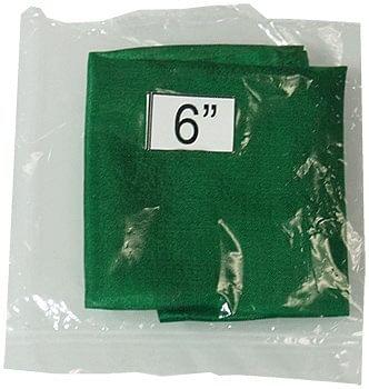 """6"""" Silk Green - magic"""