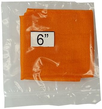 """6"""" Silk Orange - magic"""