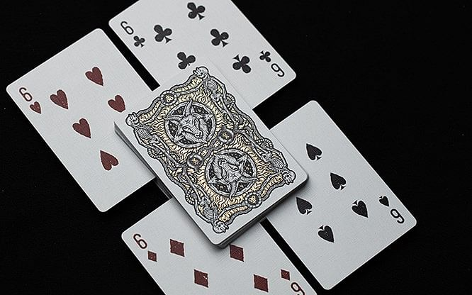 666 Dark Reserves Playing Cards