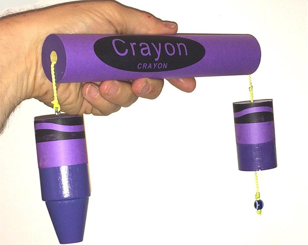 Breakaway Crayon - Purple - magic