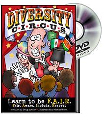 Diversity Circus Graphic Novel and DVD - magic