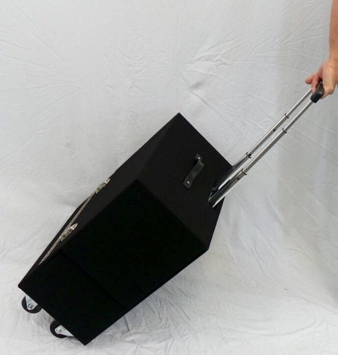 Joe Lefler Pro Suitcase Table Retractable Handle - magic