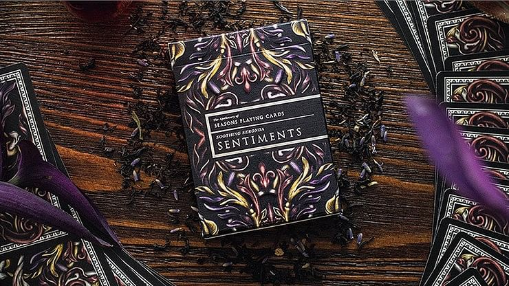 Luxury Apothecary Playing Cards - Sentiments - magic