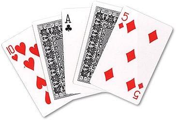 Acrobatic Cards - magic