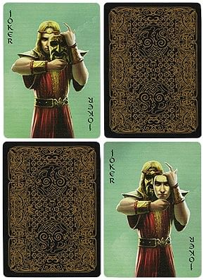 Bicycle Aesir Viking Gods Playing Cards (Gold Edition)