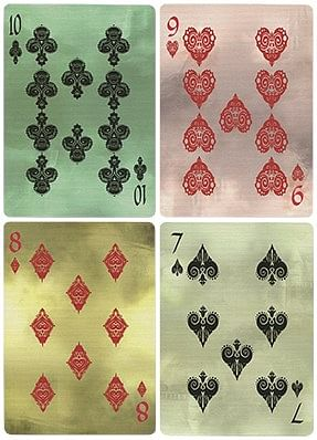 AEsir Gold Playing Cards
