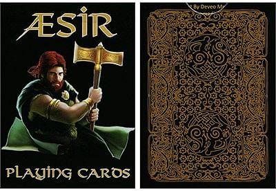 AEsir Gold Playing Cards - magic