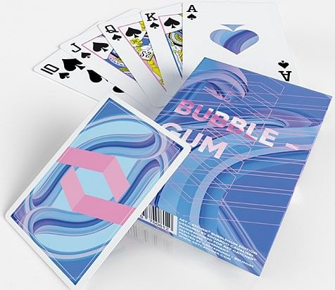 AEY Catcher Bubble Gum Playing Cards