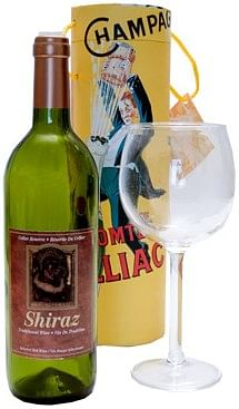 Airborne Wine And Glass - magic