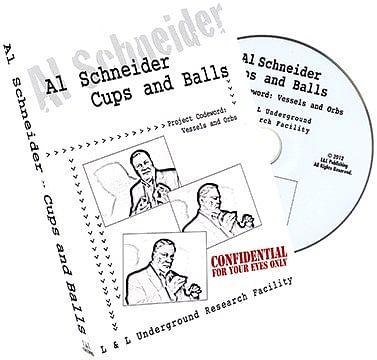 Al Schneider Cups & Balls - magic