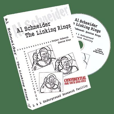 Al Schneider Linking Rings - magic