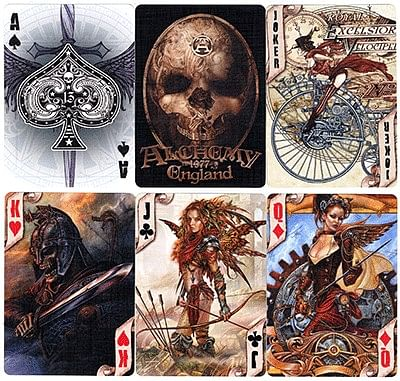 Alchemy 2 Playing Cards