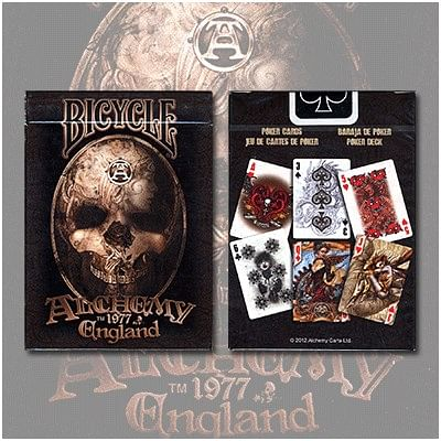 Alchemy 2 Playing Cards - magic