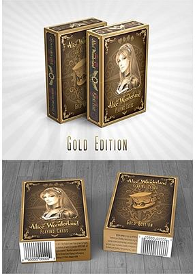 Alice of Wonderland (Gold)