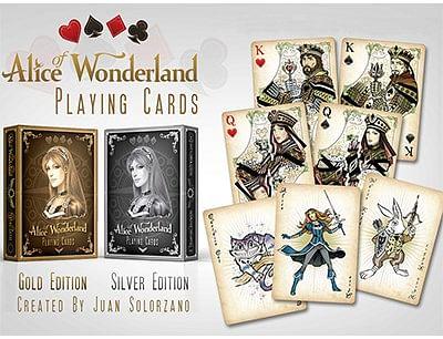 Alice of Wonderland (Gold) - magic