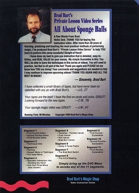 All About Sponge Balls - Brad Burt