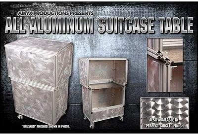 All Aluminum Suit Case Table - magic
