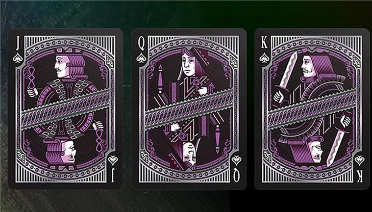 Alloy Amethyst Playing Cards Special Numbered Edition Deck (Purple)