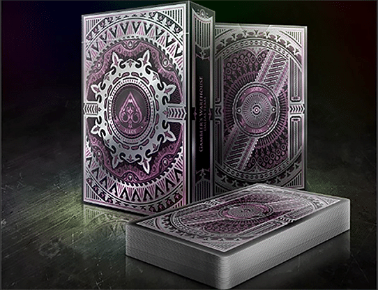 Alloy Amethyst Playing Cards Special Numbered Edition Deck (Purple) - magic