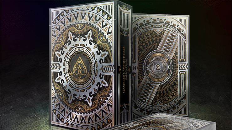 Alloy Copper Playing Cards Special Numbered Edition Deck (Copper) - magic