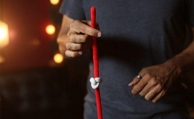 Amazing Acrobatic Knot w/xtra knot