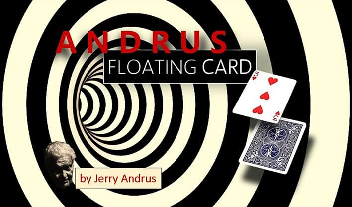 Andrus Floating Card Blue - magic