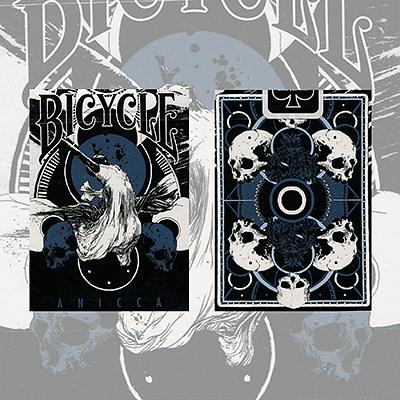 Anicca Deck (Metallic Blue) - magic