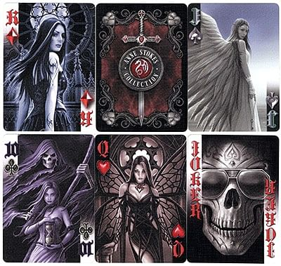 Anne Stokes Dark Hearts Cards
