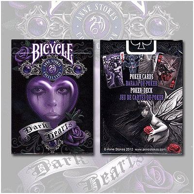 Anne Stokes Dark Hearts Cards - magic