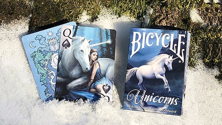 Bicycle Anne Stokes Unicorns Playing Cards - magic
