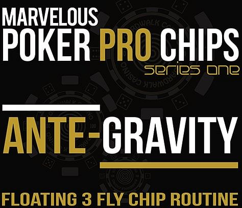 Ante Gravity - Floating 3 Fly Chip Routine - magic