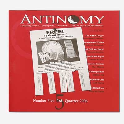 Antinomy Magazine #5 - magic