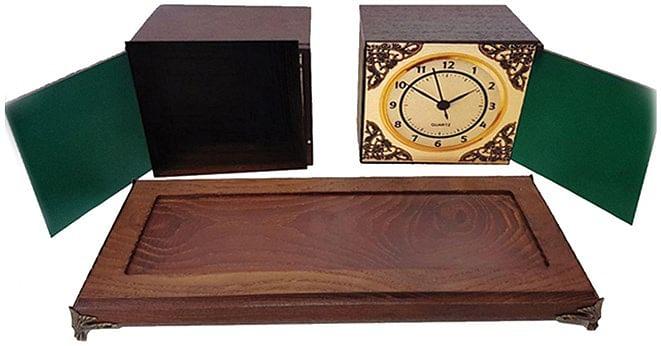 Antique Clock Box