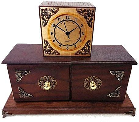 Antique Clock Box - magic
