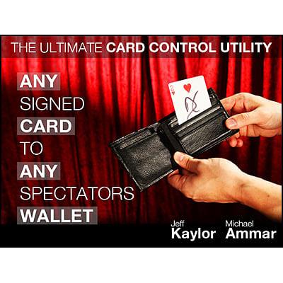 Any Card to Any Spectator's Wallet - magic
