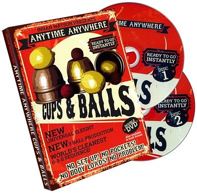 Anytime Anywhere Cups & Balls - magic