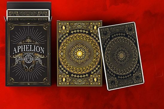 Aphelion Black Edition Playing Cards - magic