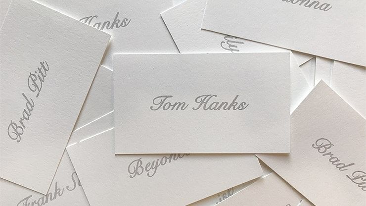 Appearing Business Cards - magic