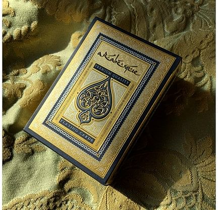 Arabesque Player's Edition Playing Cards - magic