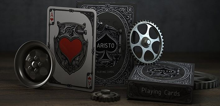 ARISTO Steampunk Playing Cards - magic