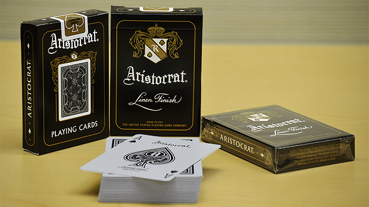 Aristocrat Black Edition Playing Cards - magic